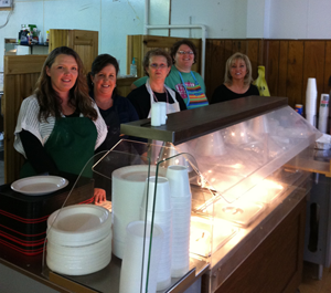 image of MCTC participants helping out at soup kitchen