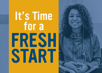 It's Time for a Fresh Start