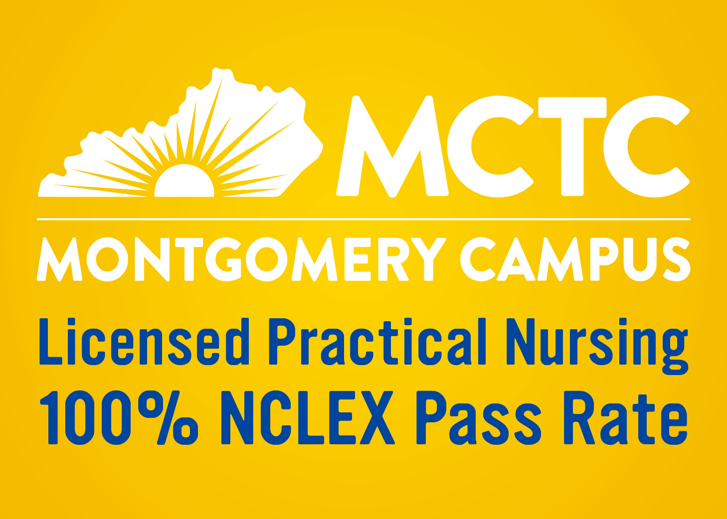 MCTC Montgomery Campus LPN 100% Pass Rate