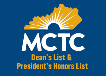 Dean's List graphic with MCTC logo